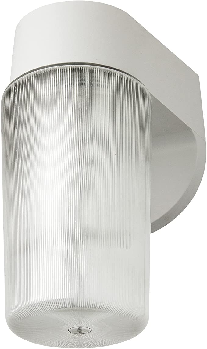 Fluorescent Wall Light Jelly Jar Dusk to Dawn With Photo Cell 13W Bronze