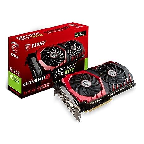 MSI GeForce GTX 1070 Juegos Z 8 GB Tarjeta gráfica GDDR5 VR Ready ...