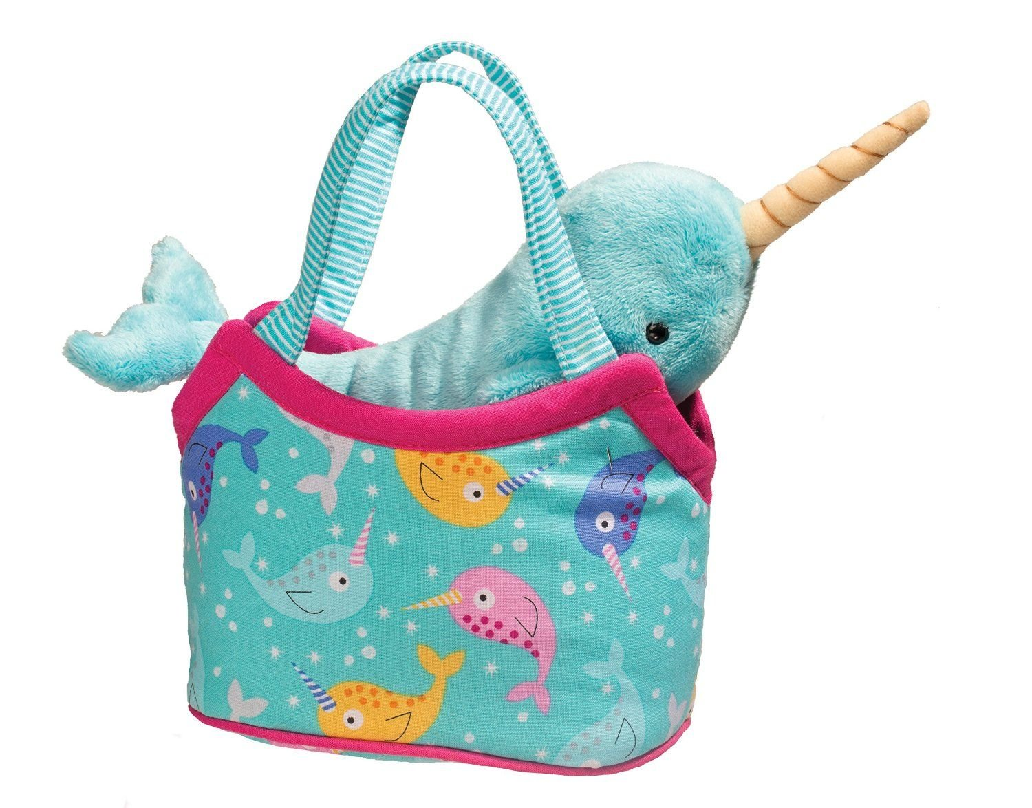 Narwhal Sassy Pet and Purse by Douglas