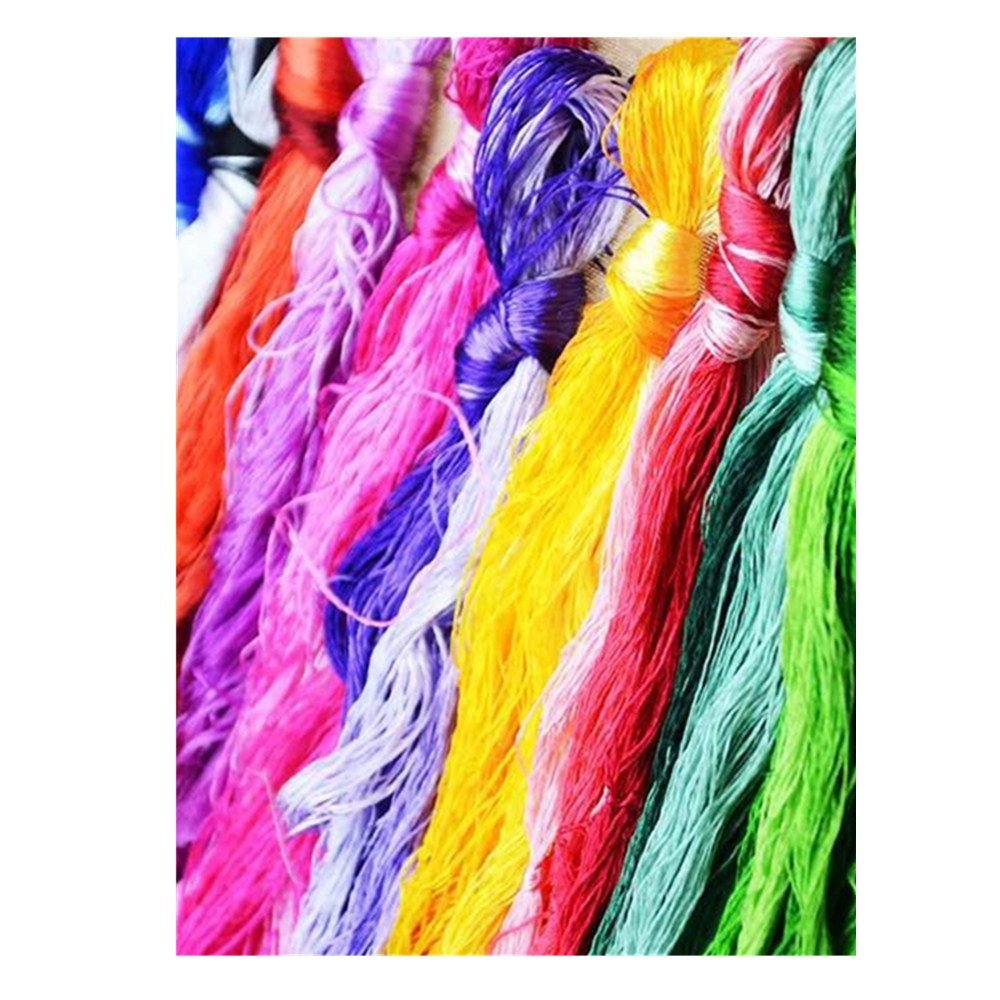 Lilith li From China DIY Recommended Commonly Used Manual Embroidery Woven Jewelry Silk Threads (14..50 color -2) 4336932285