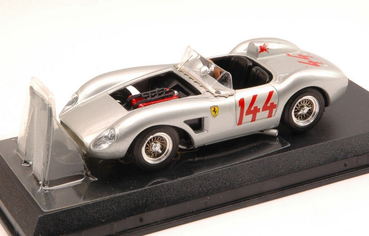 Art-Model AM0025 AM0025 Art-Model Ferrari 500 TRC 57 N.144 Grau 1:43 MODELLINO DIE CAST Model d60ef6