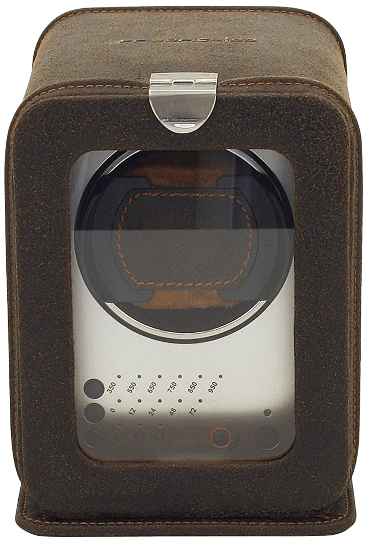 FriedrichI23 - Echtleder Uhrenbeweger fÜr Automatikuhren - 3 Programmsegmente - Cubano