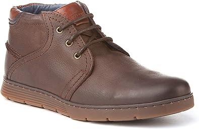 Botines de Hombre Estilo Sport. Fabricados en Piel y con Suela de Goma. Hechos en España. A&L Shoes Modelo 2198.: Amazon.es: Zapatos y complementos