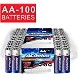 ACDelco AA Super Alkaline Batteries, 100 Count