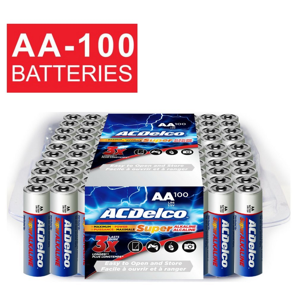 ACDelco Super Alkaline AA Batteries, 48-Count AC273