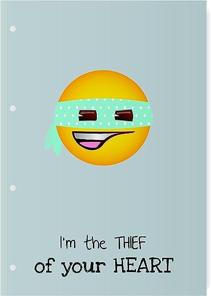 El Jardin de Noa EBN1002D - Cuaderno engomado: Emoji By Noa: Amazon.es: Oficina y papelería