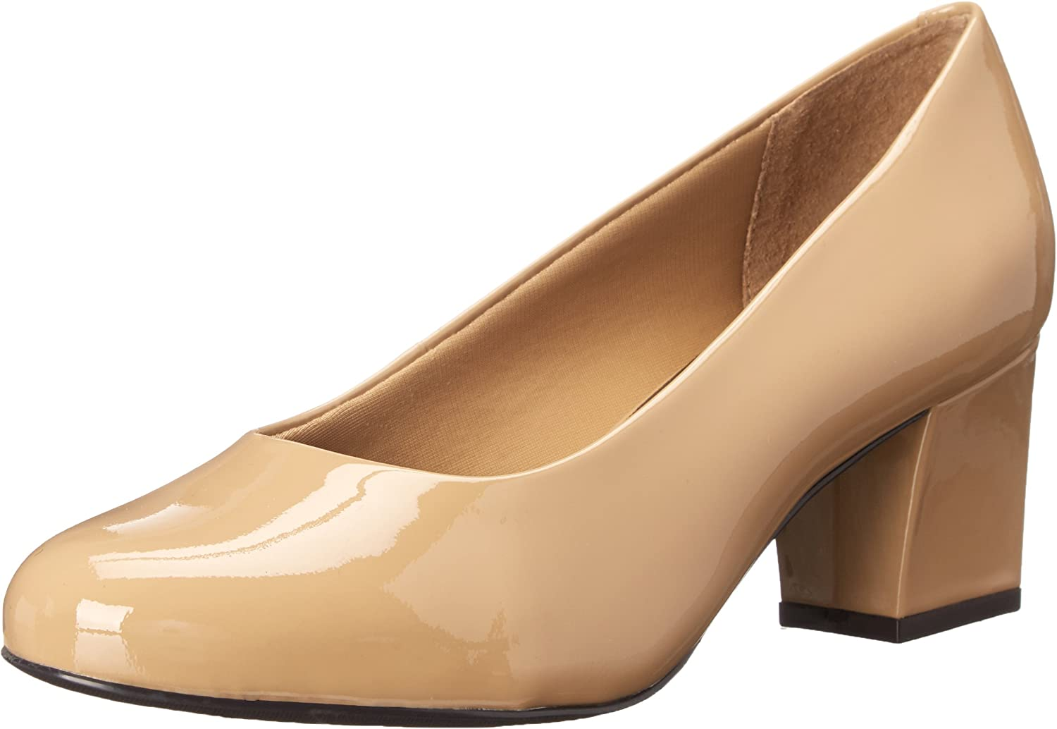 Trotters Candela Nude Patent - Pintura para Mujer
