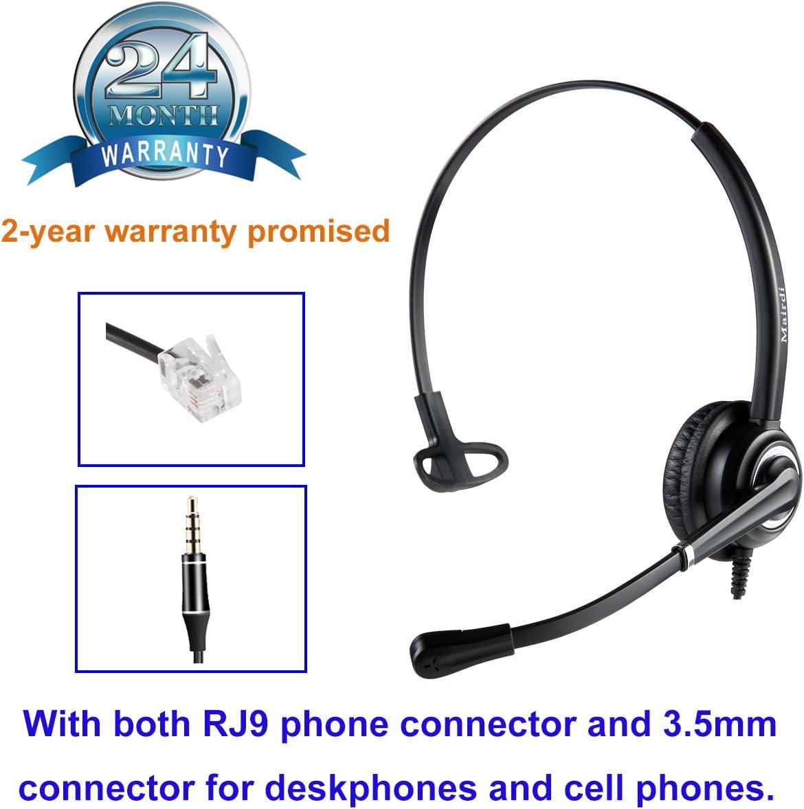 e-Learning und Musik Telefon Headset f/ür Business Skype Soft Phone Call Center B/üro Headset Handy mit Noise-Cancelling-Mikrofon VoicePro 20 Stereo USB Headset f/ür entspanntes Gaming