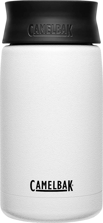 Hot Cap Vacuum Insulated Stainless Steel Travel Mug - 12oz, White