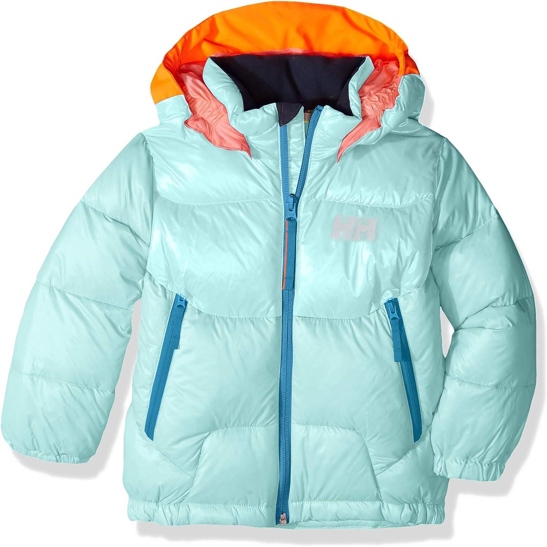 Helly-Hansen Kids /& Baby Frost Hooded Lightweight Puffy Down Jacket