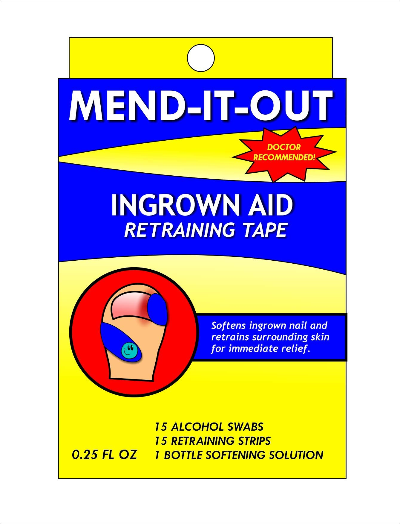 Mend It Out Ingrown Toe Nail Repair kit by Mend It Out