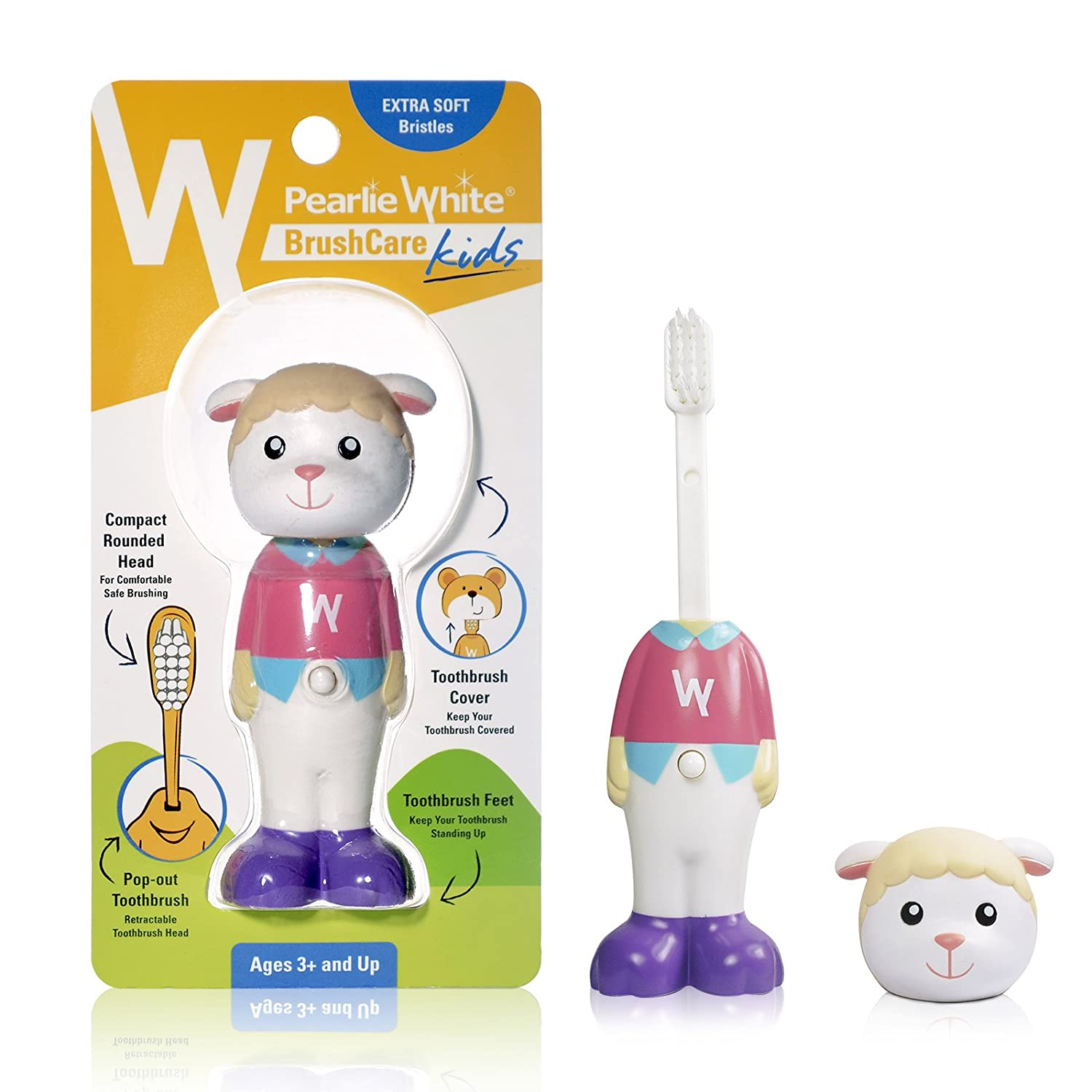 Pearlie White BrushCare Kids (Sheep)