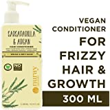 Nuray Naturals Vegan Frizzy and Chemically Damaged Hair Conditioner with Argan, 300 ml