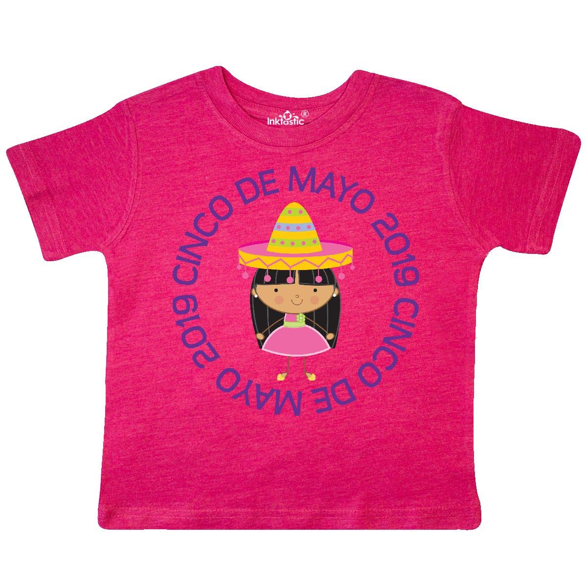 inktastic Cinco De Mayo 2019 Girls Fiesta Toddler T-Shirt