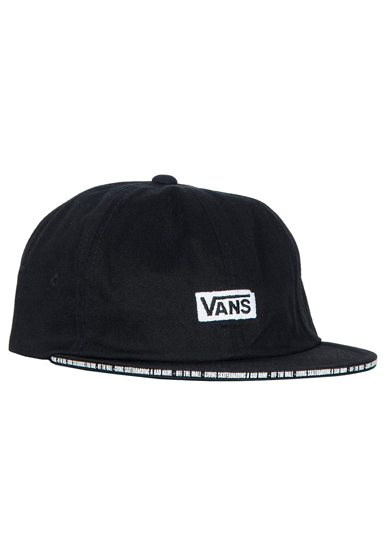 Vans X Baker Jockey - Gorra, Color Negro, Color sin Color, tamaño ...