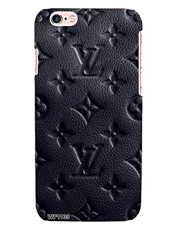 9b967425584d Louis Vuitton Black Leather Case for Apple iPhone 6+  Amazon.in  Electronics