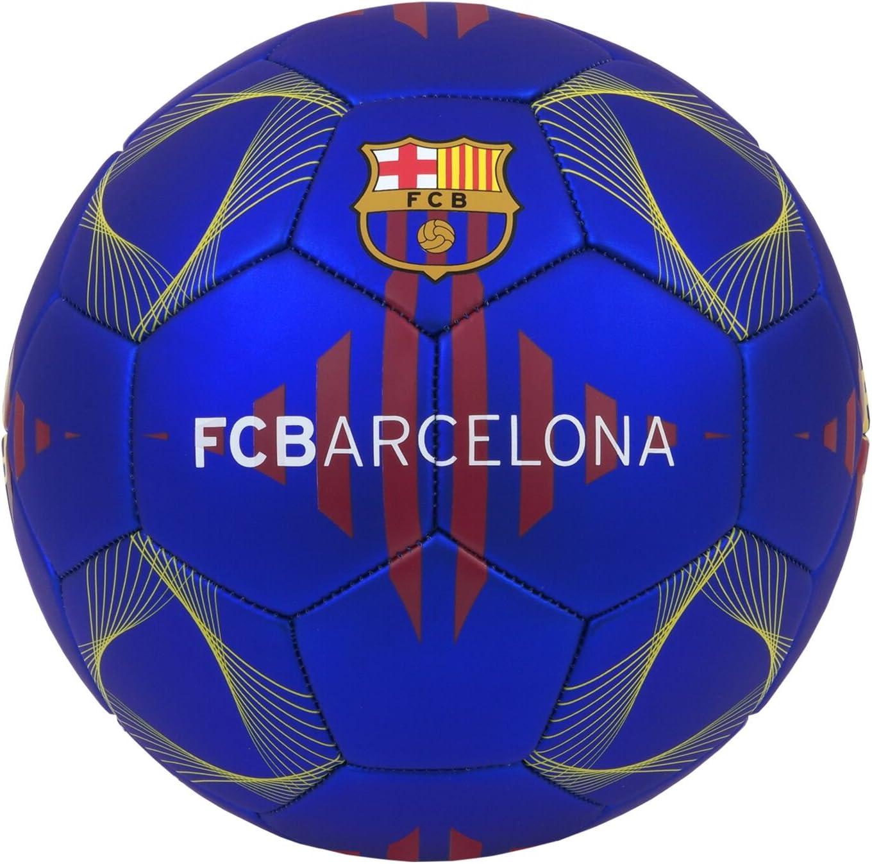 Balón de fútbol de fútbol de la colección oficial FC BARCELONA FC BARCELONA Liga española de fútbol talla 5: Amazon.es: Deportes y aire libre
