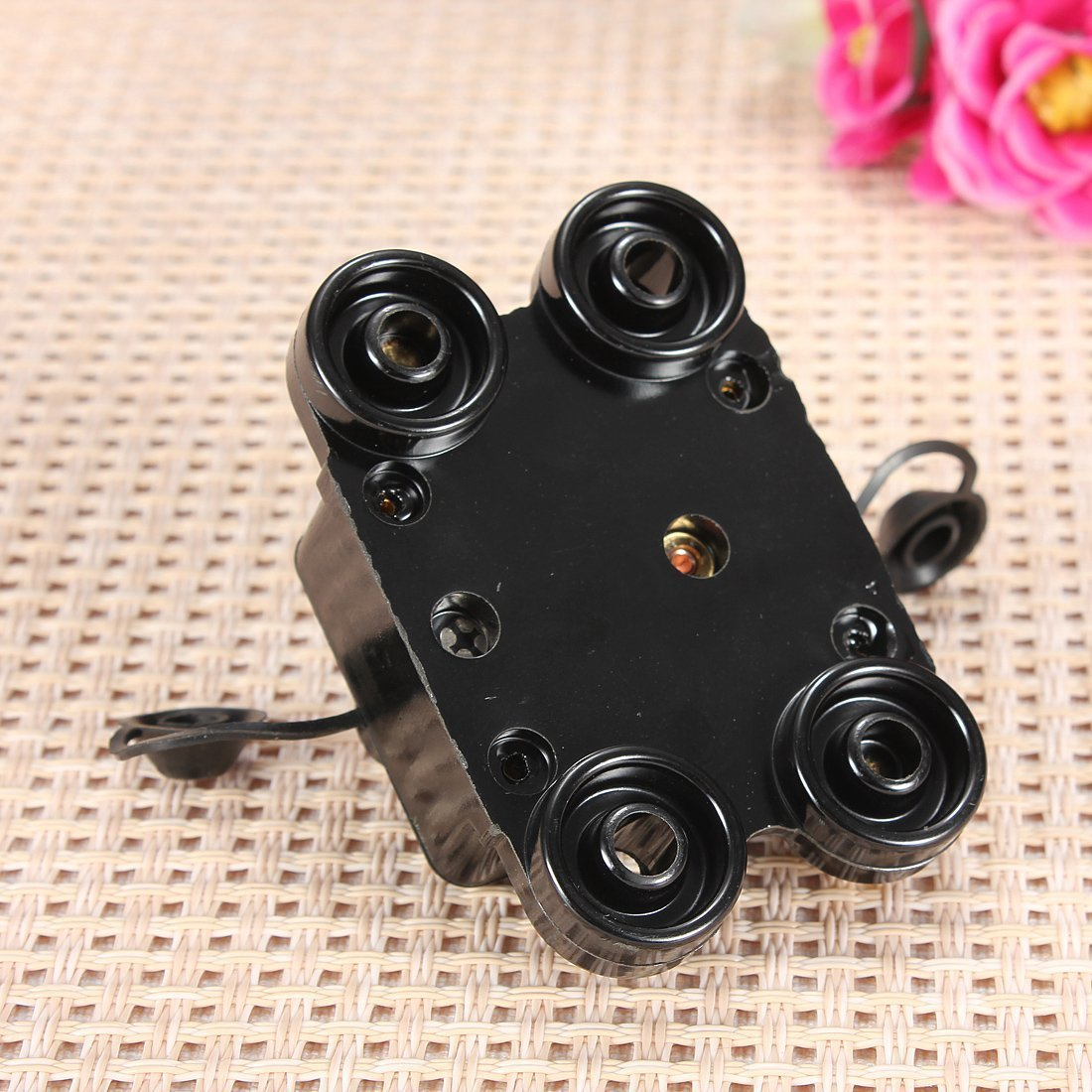 Car Marine Boat Stereo Audio DC12V-24V Inline Circuit Breaker Replace Fuse 100A
