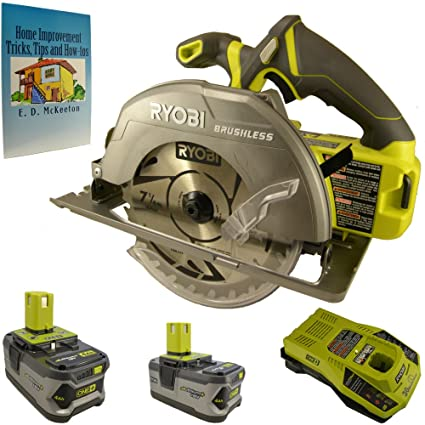 Ryobi 18 volt one 7 14 in brushless circular saw kit bundle with ryobi 18 volt one 7 14 in brushless circular saw kit keyboard keysfo Gallery