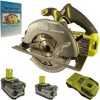 Ryobi 18 volt one 7 14 in brushless circular saw kit bundle with ryobi 18 volt one 7 14 in brushless circular saw kit greentooth Gallery