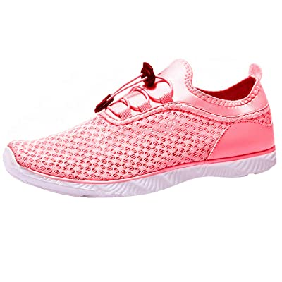 Adorllya Water Shoes for Women Men Mesh Aqua Shoes Slip on Hiking Swim Shoes | Water Shoes
