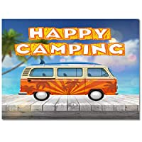 Cartoon Sea Beach Caravans Area Rugs for Indoor Home Decor 4'x6' Throw Rug Rectangular...