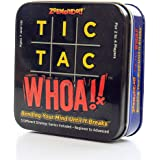 Zobmondo!! Tic Tac Whoa!! Kids 5-in-1 Strategy Card Game | Fun for Families, Boys and Girls | Makes a Great Gift