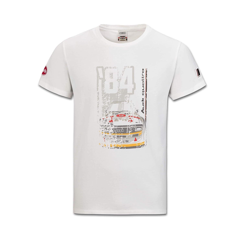 Audi Heritage - Camiseta para Hombre: Amazon.es: Coche y moto