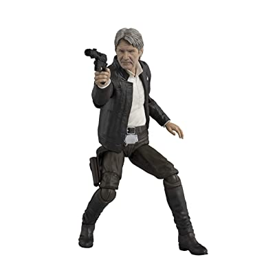 Bandai S.H.Figuarts Han Solo (The Force Awakens) Star Wars: The Force Awakens: Toys & Games