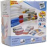 Space Bag 14 Bag Space Saver Set (Clear)