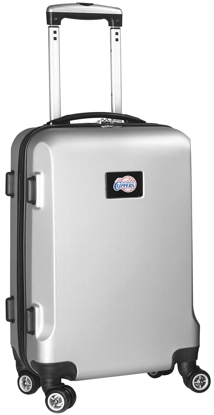 NBA Los Angeles Clippers Carry-On Hardcase Spinner, Silver