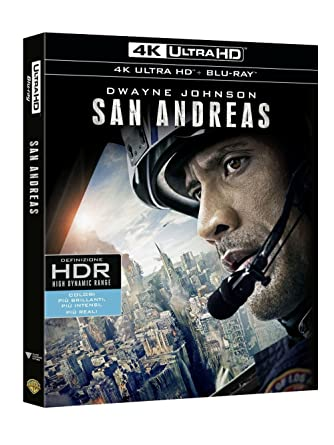San Andreas 4K UHD (Blu-Ray) [Blu-ray]: Amazon.es: vari: Cine y Series TV