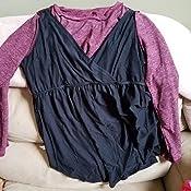 Amazon.com: Hello MIZ - Túnica de maternidad con cintura ...