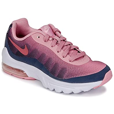 87421c93ed Nike Women's Air Max Invigor Print (gs) Competition Running Shoes,  Multicolour (Gridiron/Vintage Wine-Pink 002), 3.5 UK: Amazon.co.uk: Shoes &  Bags