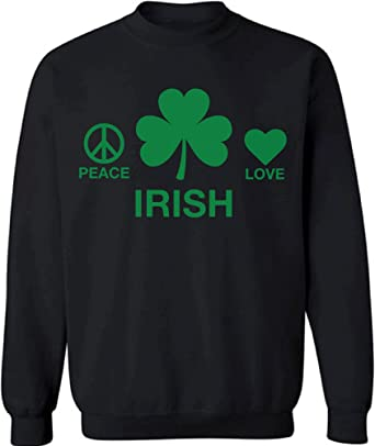Shamrock Beer Heartbeet Womens Long Sleeve Tee St Patricks Day Irish Drinking