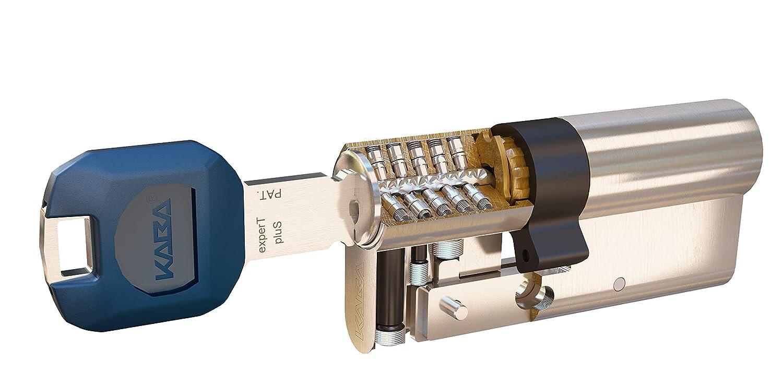 Cilindro Kaba Expert Plus LAM 30X30, Niquel