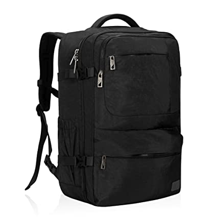 45d5c8818f2d Hynes Eagle 44L Carry on Backpack Flight Approved Compression Travel Pack  Cabin Bag  Amazon.ca  Luggage   Bags