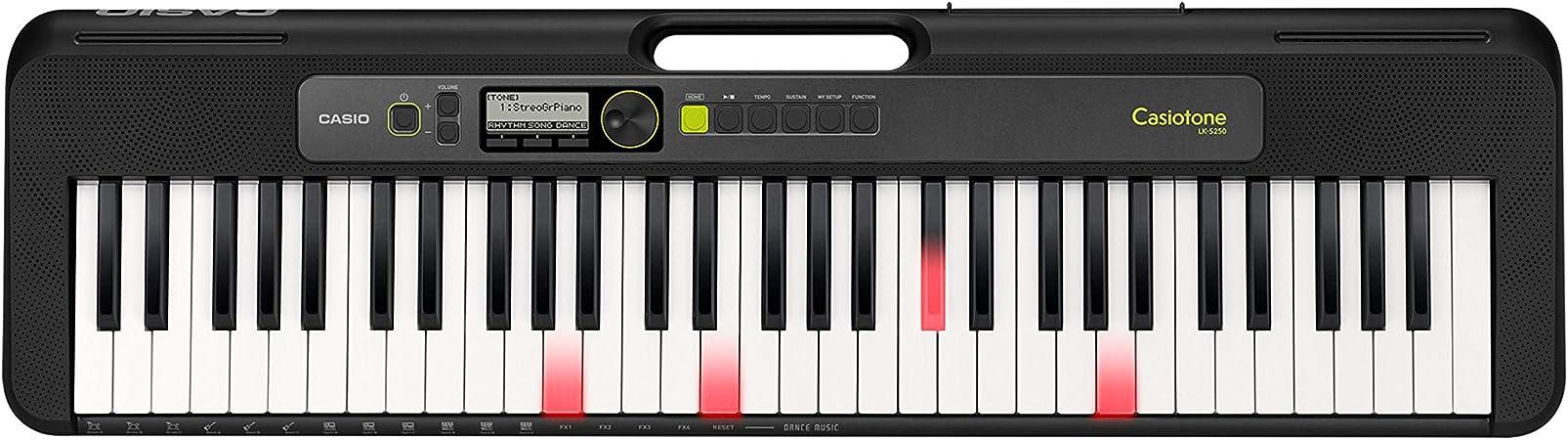 Casio LK-S250 - Teclado de piano: Amazon.es: Instrumentos musicales