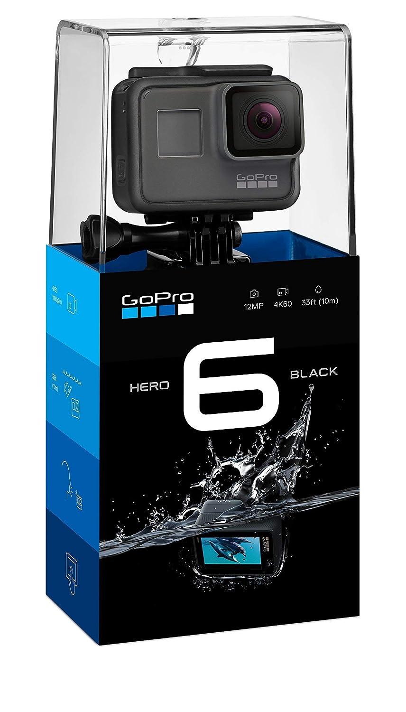 GoPro HERO6 Black 4K Action Camera (Certified Refurbished)