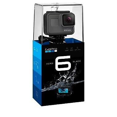 GoPro HERO6 Black 4K Action Camera - Certified Refurbished