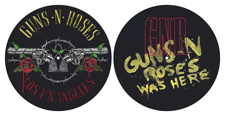 Guns N' Roses 'Los F'N Angeles' Turntable Slipmat Set Razamataz