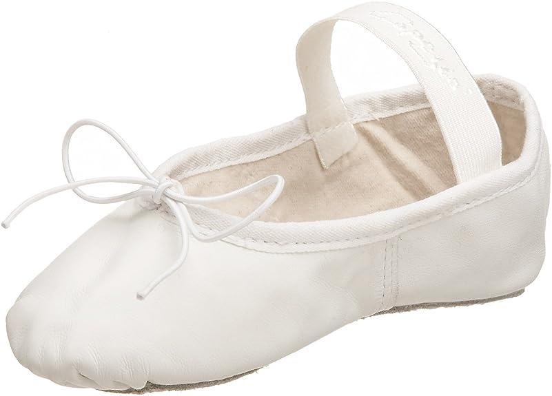 Capezio Toddler//Little Kid Teknik 200 Ballet Shoe,White,13.5 E US Little Kid