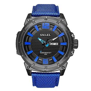 Blisfille Reloj 60Mm Relojes Digitales Hombre Reloj para Running Reloj de Oficina Reloj para Trabajo: Amazon.es: Deportes y aire libre