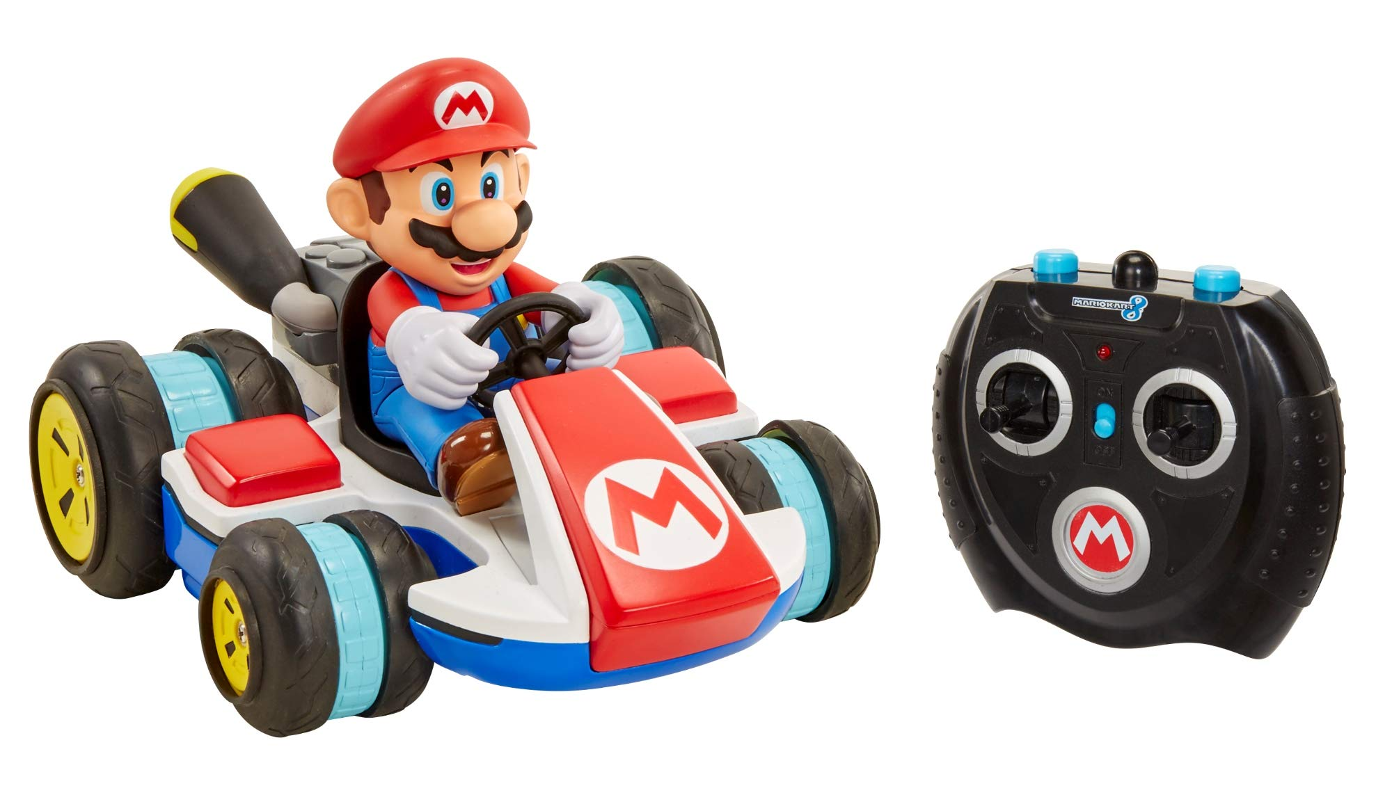 NINTENDO Super Mario Kart 8 Mario Anti-Gravity Mini RC Racer 2.4Ghz by Nintendo (Image #12)