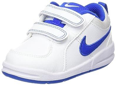 quality design c9062 d06be Nike Pico TDV Chaussures Bébé Marche garçon, Blanc (White Hyper Cobalt) 18.5