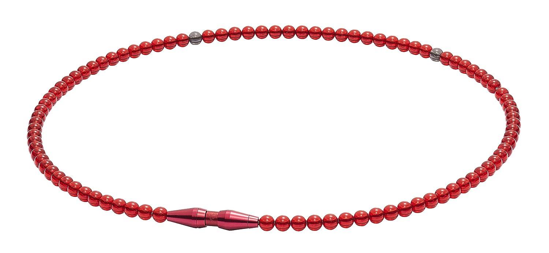 ファイテン(phiten) ネックレス RAKUWAネック EXTREME クリスタルタッチ B07L3X3J32 レッド 50cm