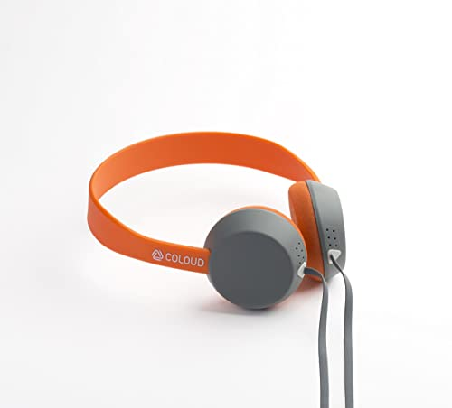 Coloud Knock On-Ear Headphones, Grey Orange 4090643