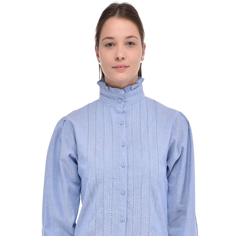Ropa Accesorios Lane Blusa Amazon Cotton Y Victoriana Chambray es fgqOYq