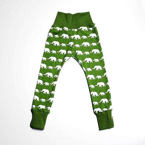 bcf9878fc Baby Leggings - Handmade - Unisex - Organic - Elephants: Amazon.co.uk:  Handmade