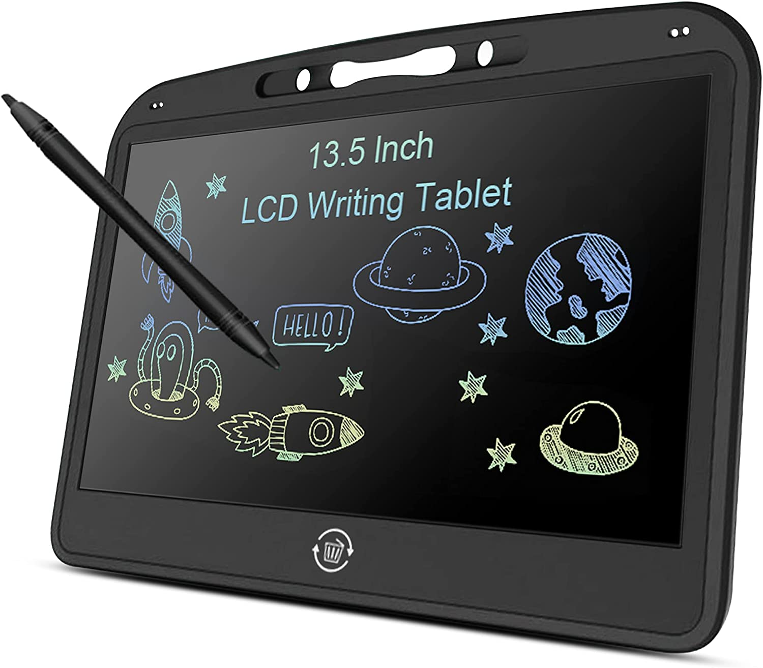 Witeo LCD Writing Tablet Gifts for Kids /& Adults Erasable Reusable Electronic Drawing Pads 13.5 Inches Colorful Screen Doodle Boards with Lock Function